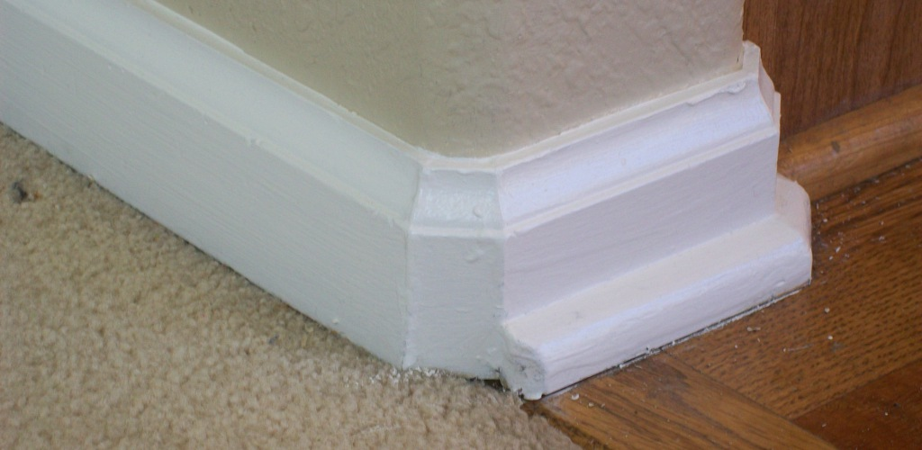 Bull Nose Corners, How To Cut Molding For Rounded Corners