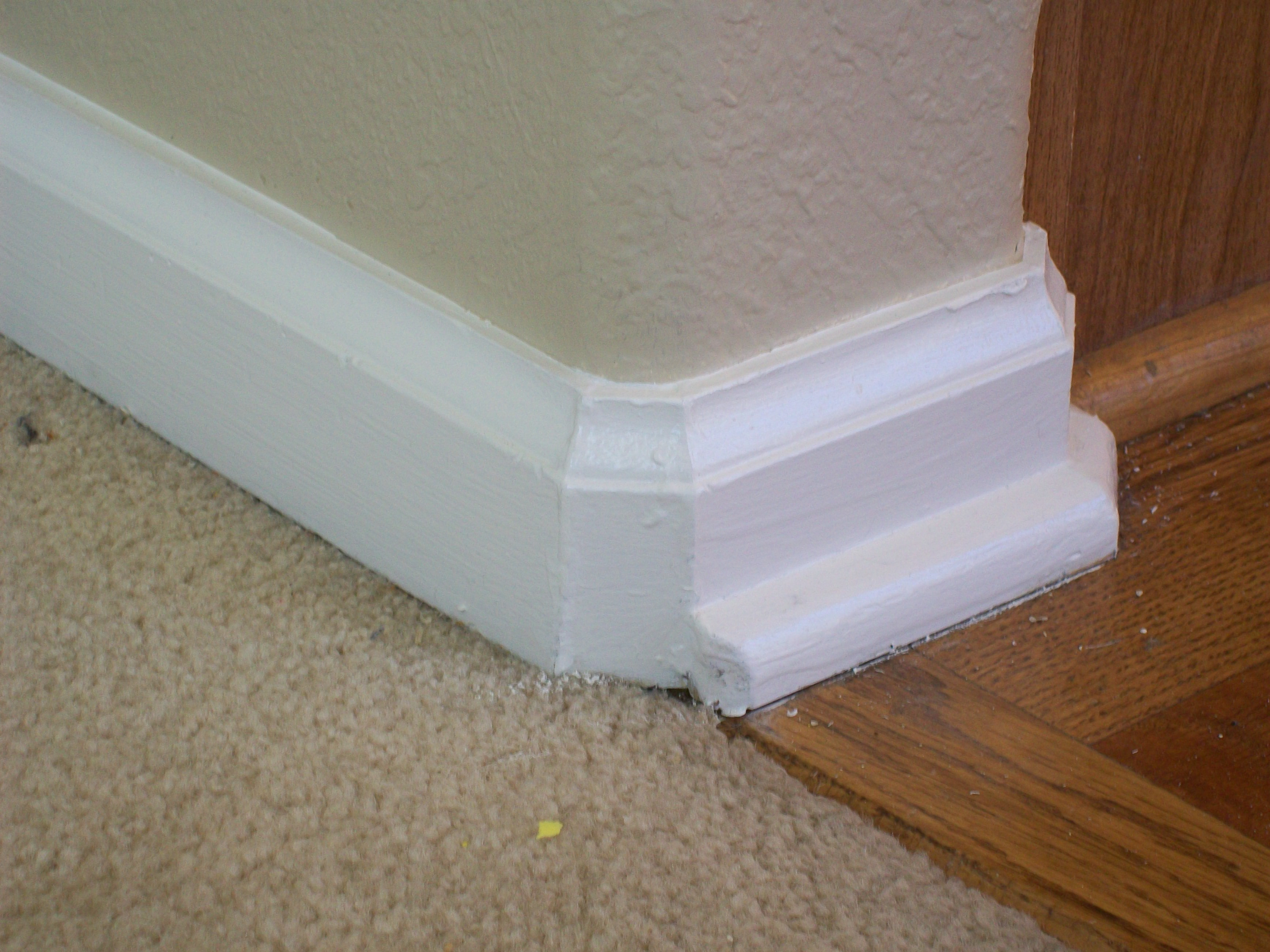 Baseboard On Rounded Corners Round Designs