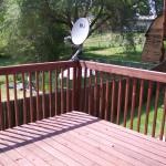 Fully restored deck