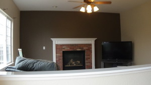 Fireplace accent